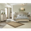 Ashley Demarlos 6 Piece Wood California King Panel Bedroom Set