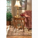 Butler Specialty Masterpiece Oval Wood Accent Table-Plantation Cherry