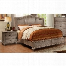 Furniture of America Calpa 2 Piece Queen Panel Bedroom Set