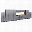 NewAge Performance Plus 2.0 12 Piece Diamond Cabinet Set in Silver