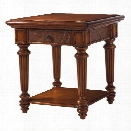 Tommy Bahama Home Island Estate Boca End Table in Plantation