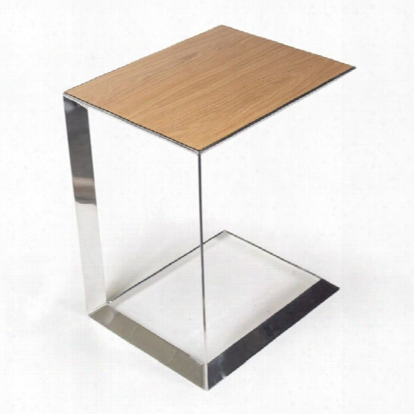 Aeon Furniture By Sean Dix Capri End Table In White Oak