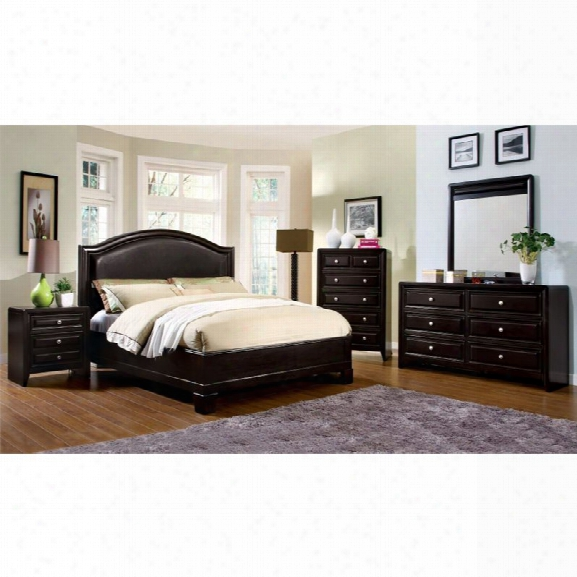 Furniture Of America Basonne 4 Piece California King Bedroom Set