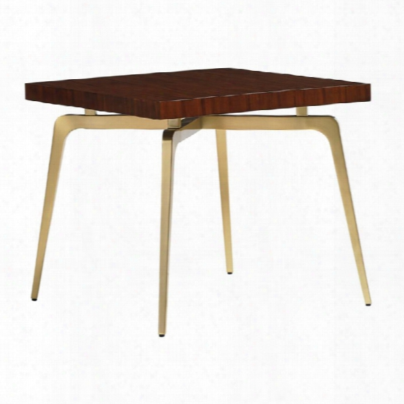 Lexington Take Five Allegro End Table In Rosewood