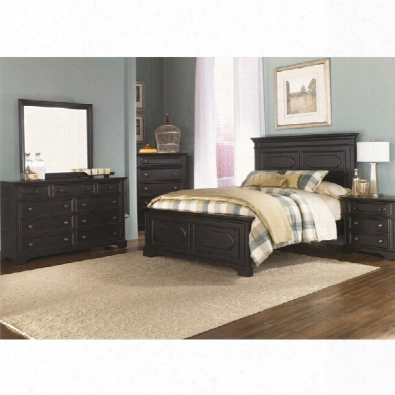 Liberty Furniture Carrington Ii 5 Piece Queen Panel Bedroom Set