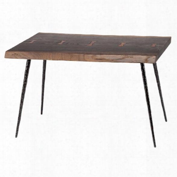 Nuevo Nexa End Table In Seared Brown