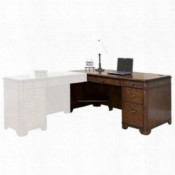 Kathy Ireland Home Desk In Warm Fruitwood