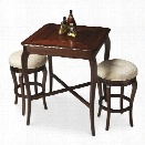 Butler Specialty Plantation Cherry Pub Table in Dark Brown