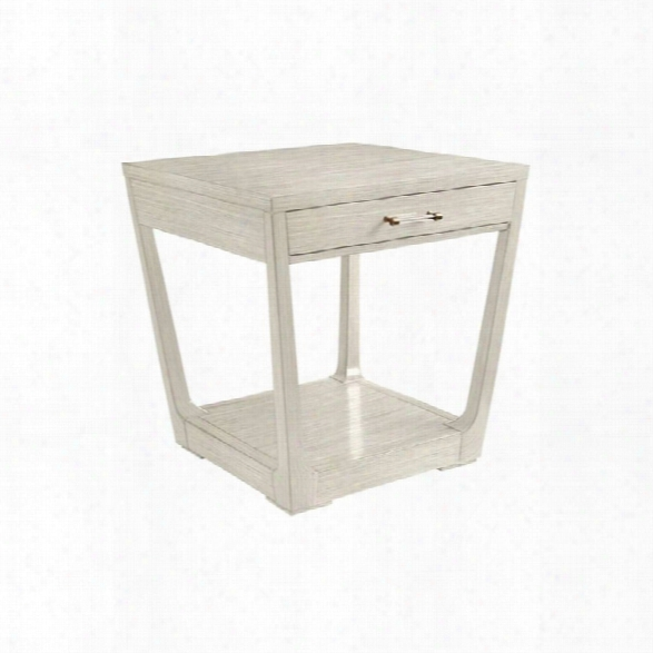 Coastal Living Oasis-meridian Square Lamp Table In Oyster