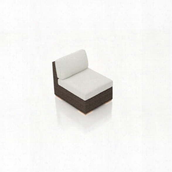Harmonia Living Arden Armless Patio Chair In Canvas Natural