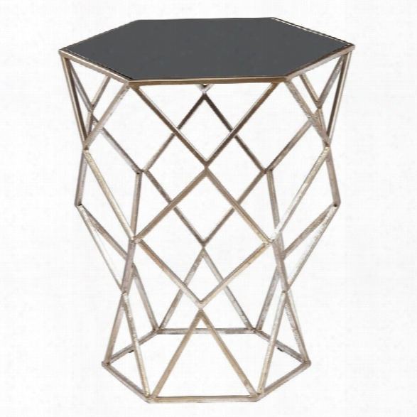 Maklaine End Table In Black