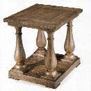 Magnussen Densbury Wood End Table in Natural Pine