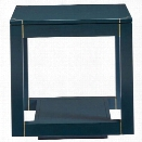 Stanley Furniture Panavista Floating Parsons End Table in Oceanic