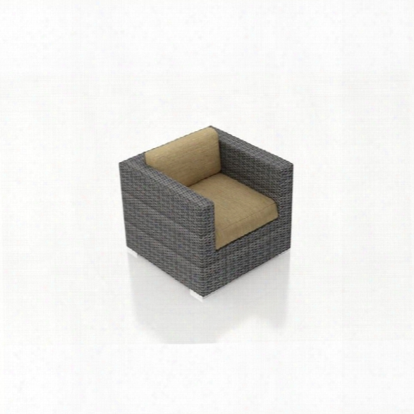 Harmonia Living District Patio Arm Chair In Heather Beige