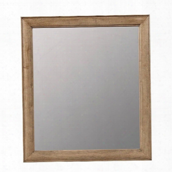 Stone & Leigh Chelsea Square Mirror In French Toast