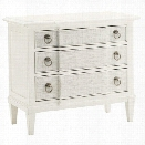 Tommy Bahama Home Ivory Key Tuckers Point Bachelor's Chest in White