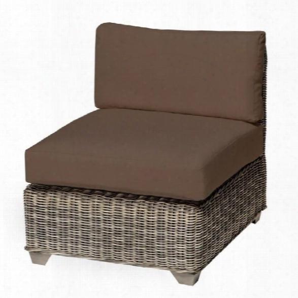 Tkc Cape Cod Outdoor Wicker Chair In Cocoa (set Of 2)