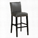 American Heritage Billiard Albany 26 Counter Height Stool in Black