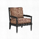 Tommy Bahama Kingstown Sedona Patio Accent Chair in Ebony