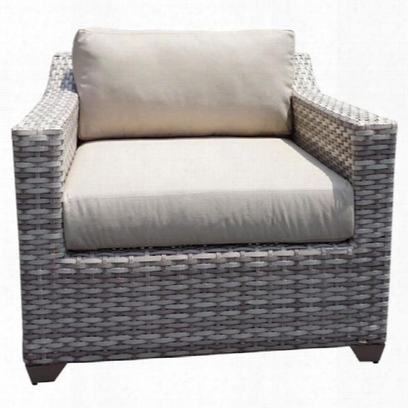 Tkc Fairmont Patio Wicker Club Chair