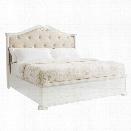 Juniper Dell Upholstered California Bed King 17th Century White