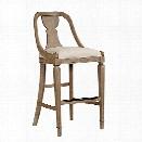 Stanley Furniture Wethersfield Estate Bar Stool in Brimfield Oak