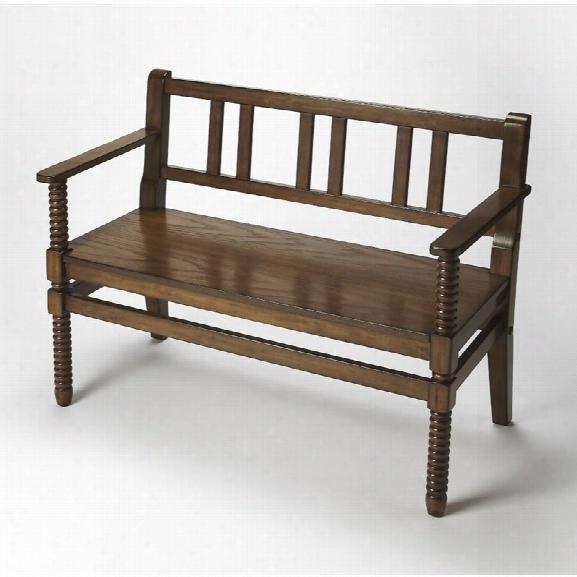 Butler Specialty Masterpiece Lofton Bench In Praline