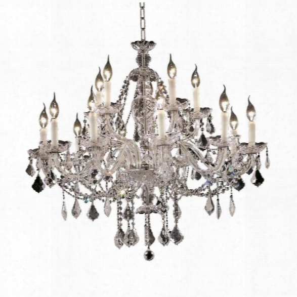 Elegant Lighting Alexandria 35 15 Light Elegant Crystal Chandelier