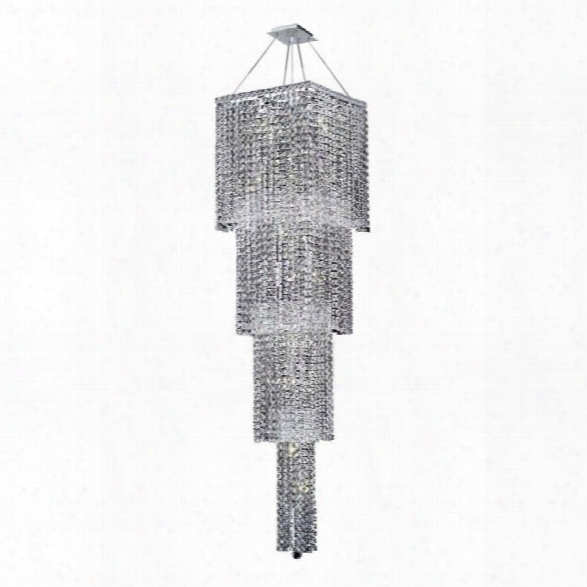 Elegant Lighting Maxime 18 18 Light Royal Crystal Chandelier