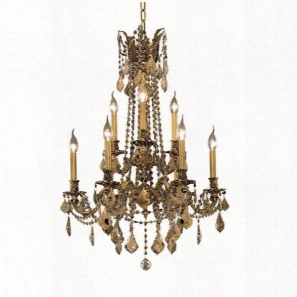 Elegant Lighting Rosalia 23 9 Light Royal Crystal Chandelier