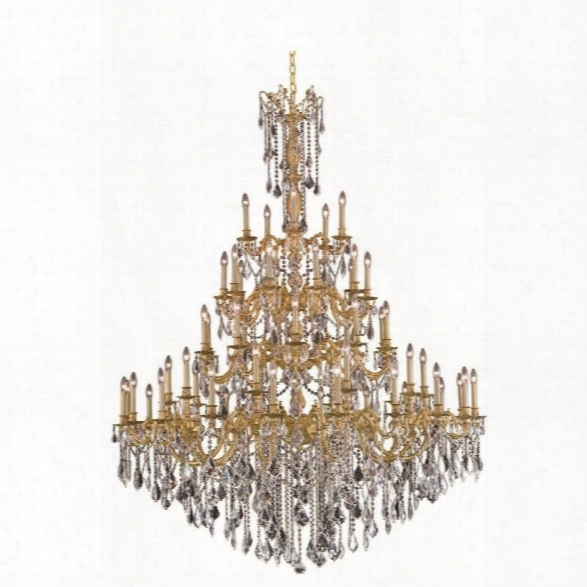 Elegant Lighting Rosalia 64 55 Light Elegant Crystal Chandelier
