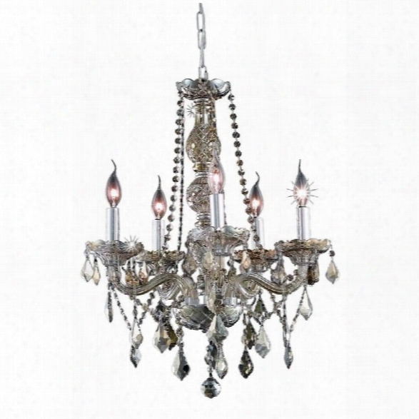 Elegant Lighting Verona 21 5 Light Elements Crystal Chandelier