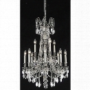 Elegant Lighting Rosalia 24 12 Light Royal Crystal Chandelier