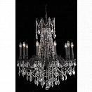 Elegant Lighting Rosalia 28 10 Light Elements Crystal Chandelier