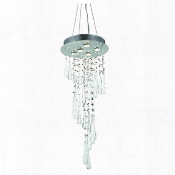 Elegant Lighting Comet 36 5 Light Royal Crystal Chandelier
