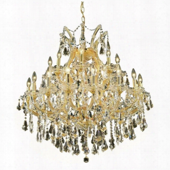 Elegant Lighting Maria Theresa 25 Light Elements Crystal Candelier