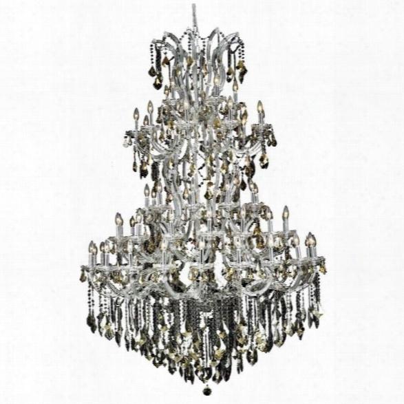 Elegant Lighting Maria Theresa 61 Light Elements Crystal Chandelier