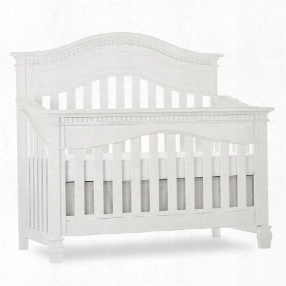 Evolur Cheyenne 5-in-1 Convertible Crib In Brush White