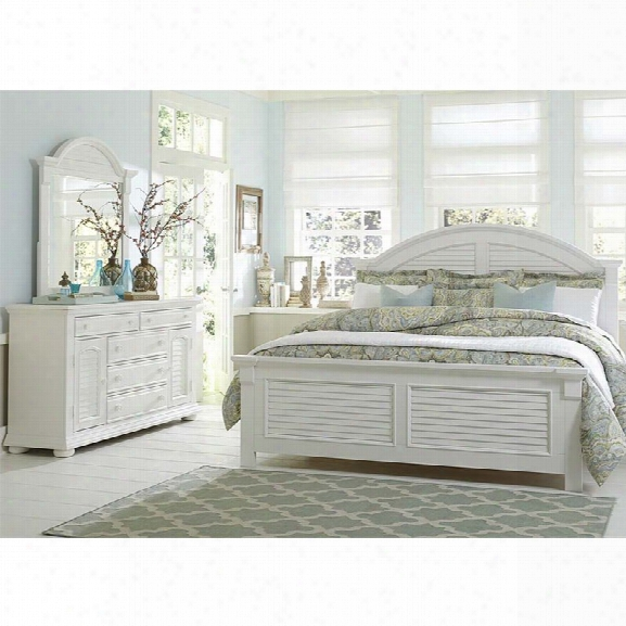 Liberty Furniture Summer House I 3 Piece Queen Panel Bedroom Set