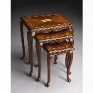 Butler Specialty Nest Of Tables in Olive Ash Burl Finish