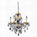 Elegant Lighting Alexandria 19 4 Light Elements Crystal Chandelier