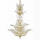 Elegant Lighting Orchid 41 25 Light Elements Crystal Chandelier