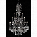 Elegant Lighting Rosalia 38 25 Light Elegant Crystal Chandelier