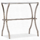Hooker Furniture Melange Cara Marble Top Accent Table in Gold