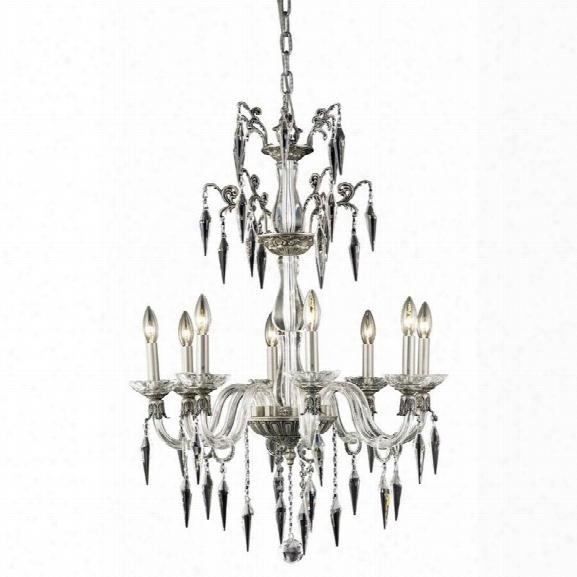 Elegant Lighting Grande 25 8 Light Elegant Crystal Chandelier