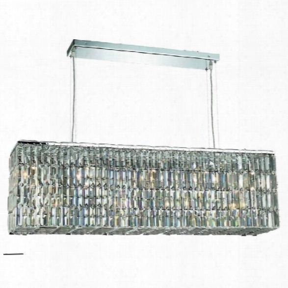 Elegant Lighting Maxime 44 9 Light Elements Crystal Chandelier