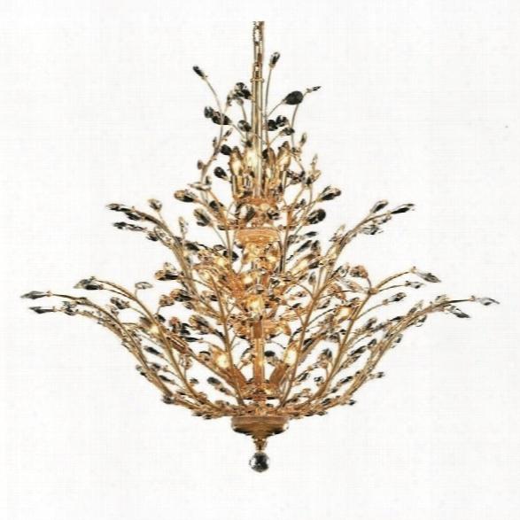 Elegant Lighting Orchid 41 18 Light Elegant Crystal Chandelier