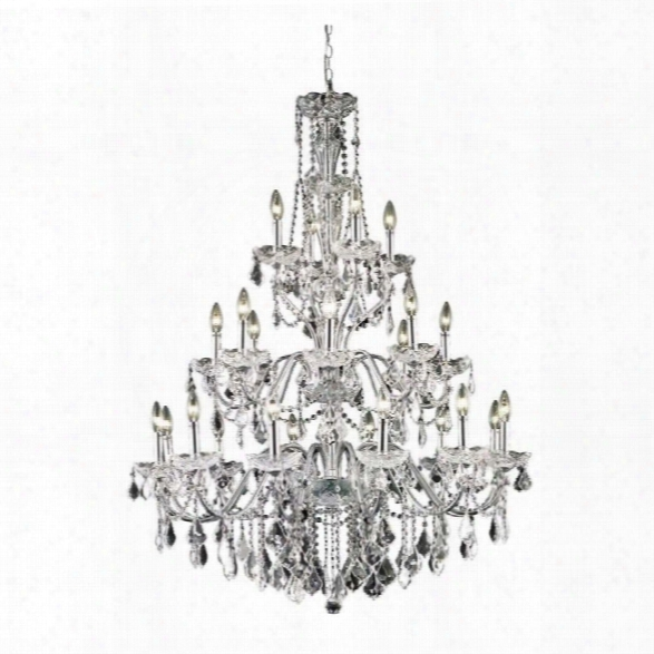 Elegant Lighting St. Francis 36 24 Light Elements Crystal  Chandelier
