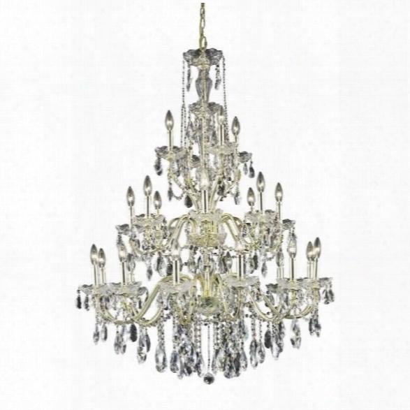 Elegant Lighting St. Francis 36 24 Light Spectra Crystal Chandelier