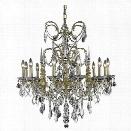 Elegant Lighting Athena 32 12 Light Spectra Crystal Chandelier